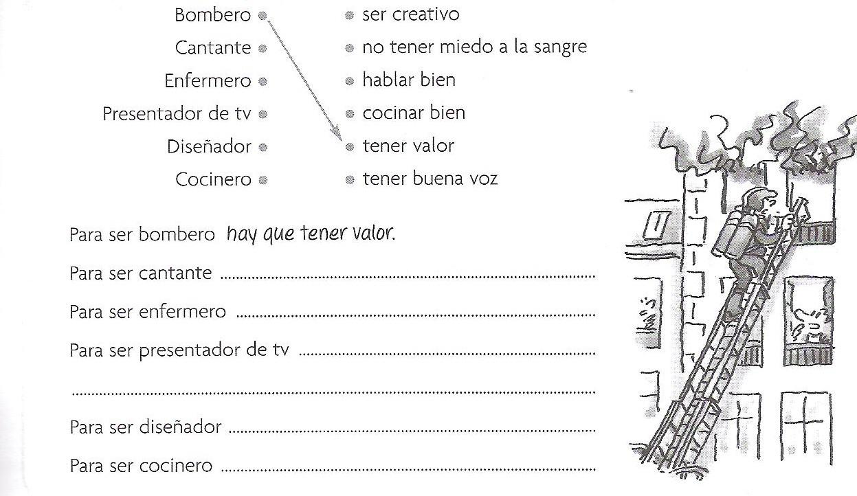 exercice espagnol 4eme