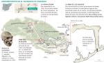 Los descubrimientos de Atapuerca_Mapa